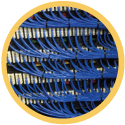 Data Center Cabling Icon