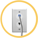 Phone Jack Outlet Icon